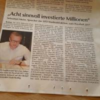 Sprecher der SPD Stadtratsfraktion Sebastian Meier
