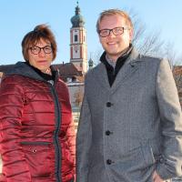 Die beiden SPD-Stadträte Renate Hecht und Sebastian Meier